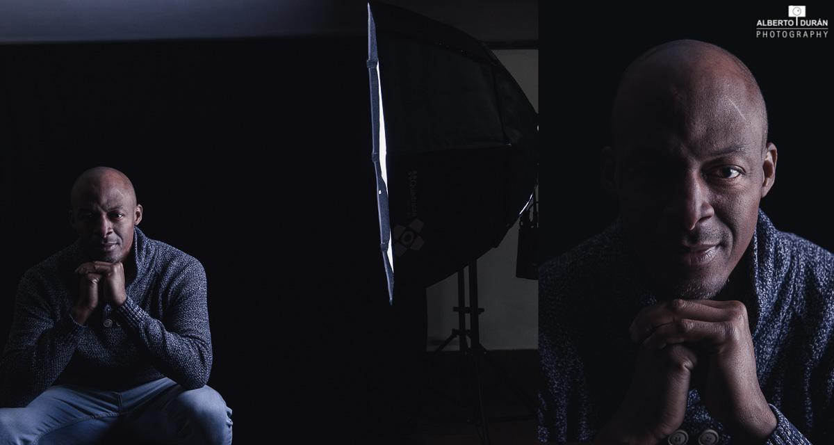 Retrato con Quadralite Reporter 360 TTL