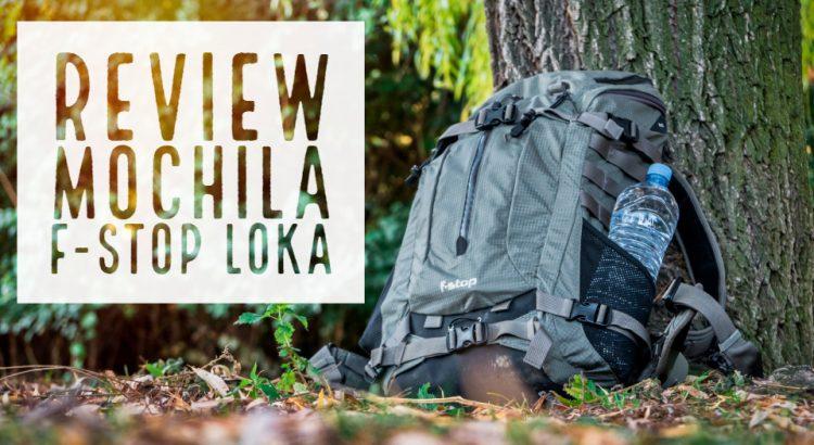 Review mochila fstop Loka